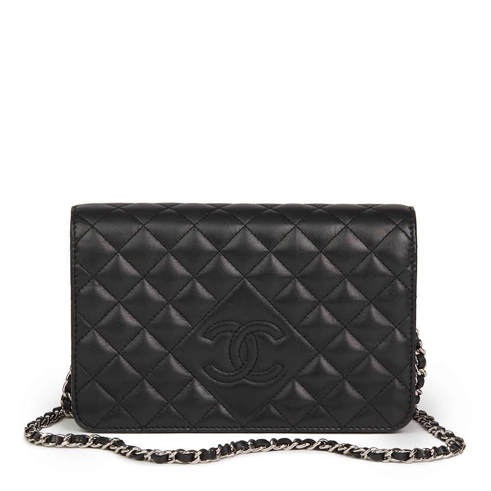 893cd07f3219 Chanel Diamond CC Wallet-on-Chain 2013 HB2161 | Second Hand Handbags