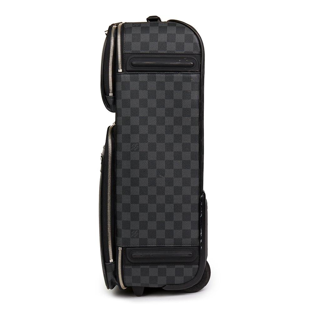 8240d4cde Louis Vuitton Graphite Damier Coated Canvas Pégase Légère 55 Business