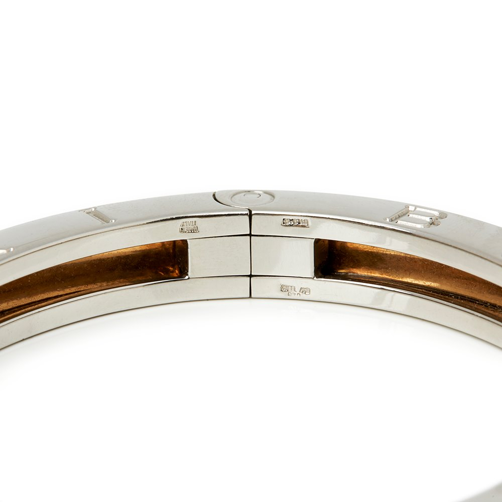 Bulgari Stainless Steel & 18k Yellow Gold B.Zero 1 Bracelet