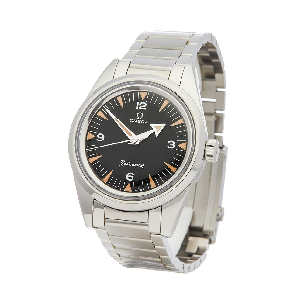 Omega Railmaster Limited Edition 60th Stainless Steel 220.10.38.20.01.002