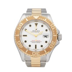 Rolex Yacht-Master Stainless Steel & 18K Yellow Gold - 16623