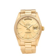 Rolex Day-Date 18K Yellow Gold - 18038