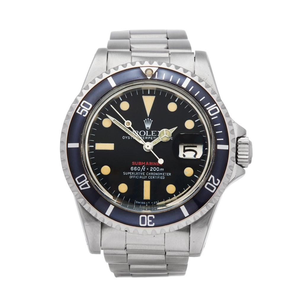 Submariner Single Red Stainless Steel 1680