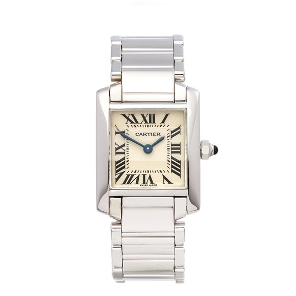 Cartier Tank Francaise 18K White Gold - W50012S3