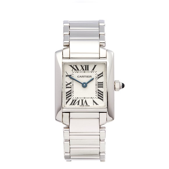 Cartier Tank Francaise 18K White Gold - W50012S3 or 2403