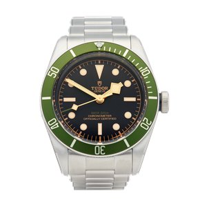 Tudor Heritage Black Bay Harrods Stainless Steel - 79230G
