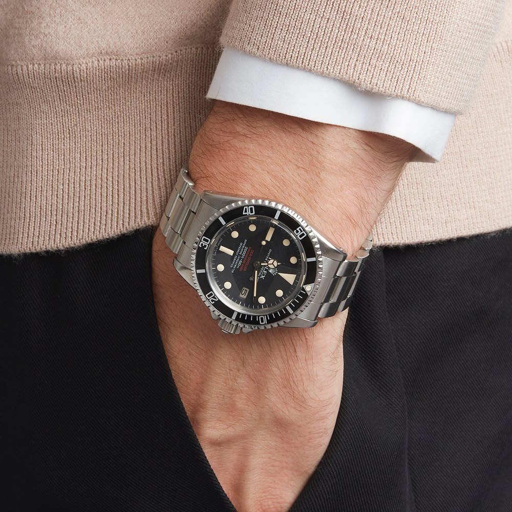 Sea Dweller Double Red Stainless Steel 1665