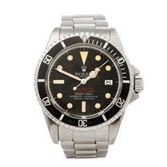 Rolex Sea-Dweller Double Red Stainless Steel - 1665