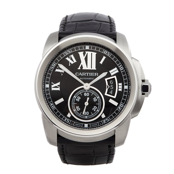 Cartier Calibre Stainless Steel - 3389