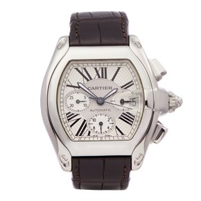 Cartier Roadster XL Chronograph Stainless Steel - 2618