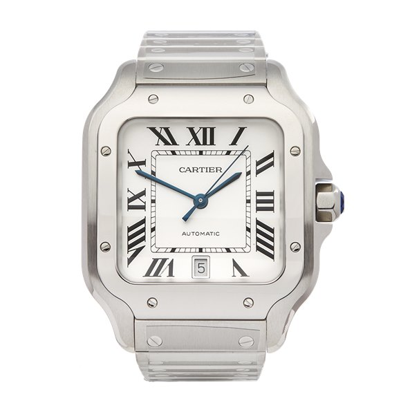 Cartier Santos De Cartier 0mm Stainless Steel WSSA0009