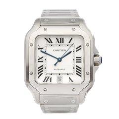 Cartier Santos De Cartier 0mm Stainless Steel WSSA0009