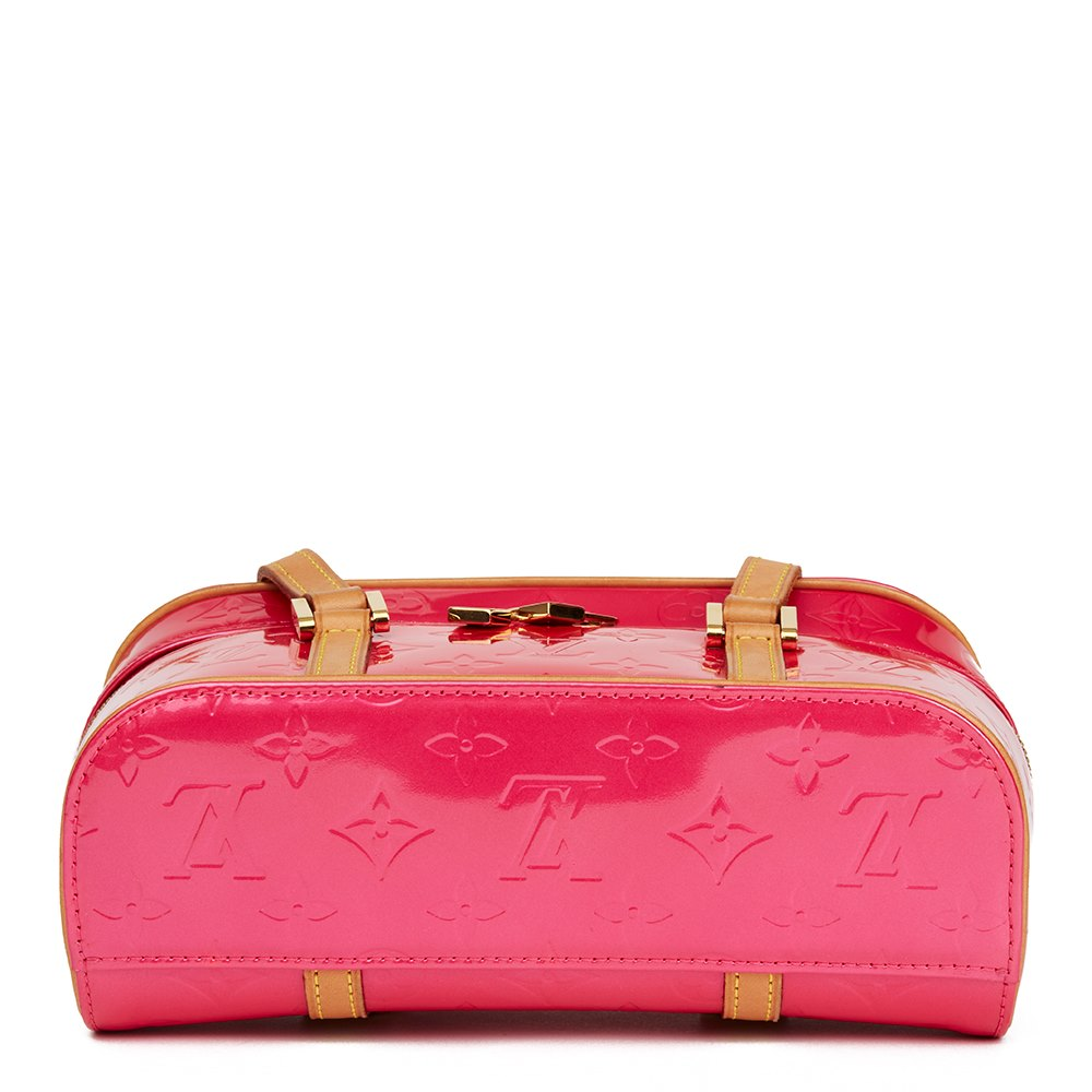 Louis Vuitton Fuchsia Monogram Vernis Leather Sullivan Horizontal PM