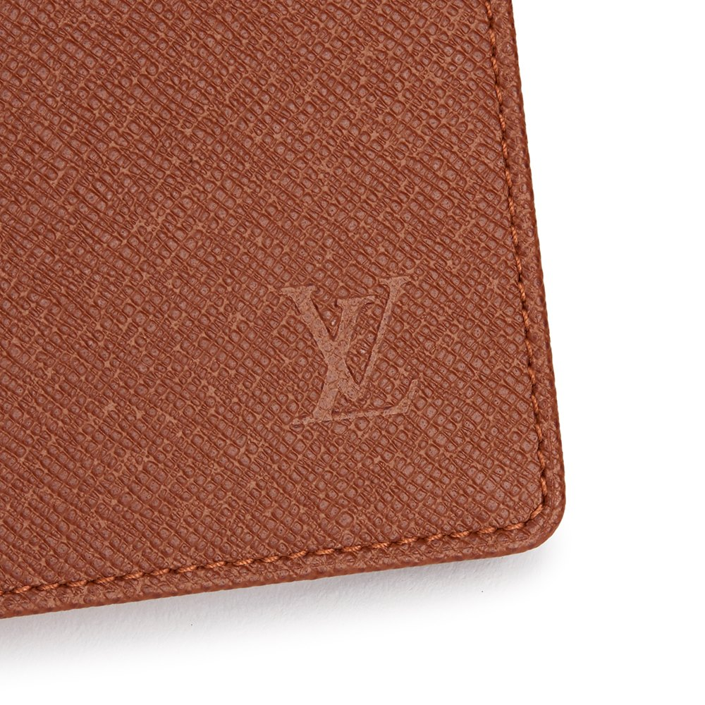 Louis Vuitton Brown Taiga Leather ID Card Holder