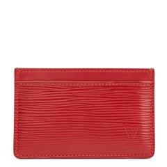 Louis Vuitton Rubis Epi Leather Card Holder