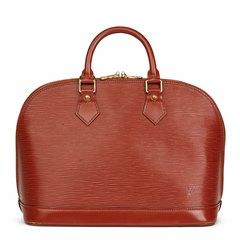 Louis Vuitton Kenyan Fawn Epi Leather Vintage Alma PM