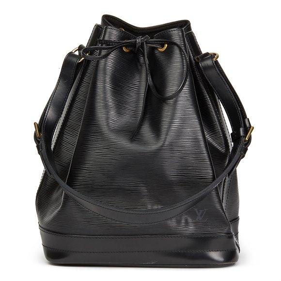 Louis Vuitton Black Epi Leather Vintage Noé