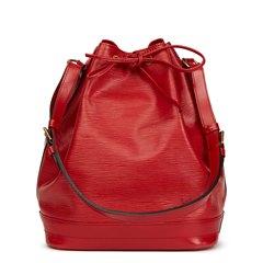 Louis Vuitton Red Epi Leather Vintage Noé