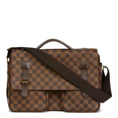 Louis Vuitton Brown Damier Ebene Coated Canvas Broadway