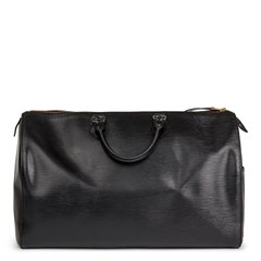Louis Vuitton Black Epi Leather Vintage Speedy 40