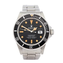 Rolex Submariner Transitional Matte Dial Stainless Steel - 16800