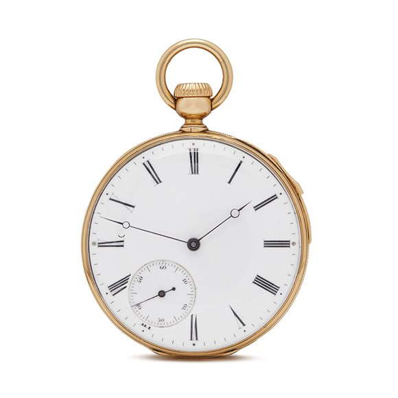 Patek Philippe Pocket Watch Quarter Minute Repeater 9k Yellow Gold - N/A