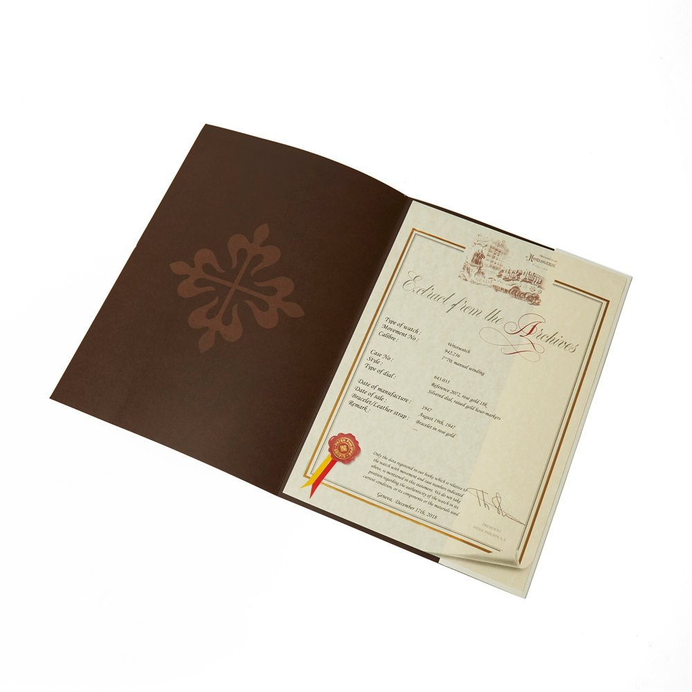 Patek Philippe Vintage 18k Rose Gold 2072