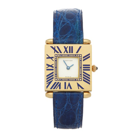 Cartier Quadrant 18K Yellow Gold