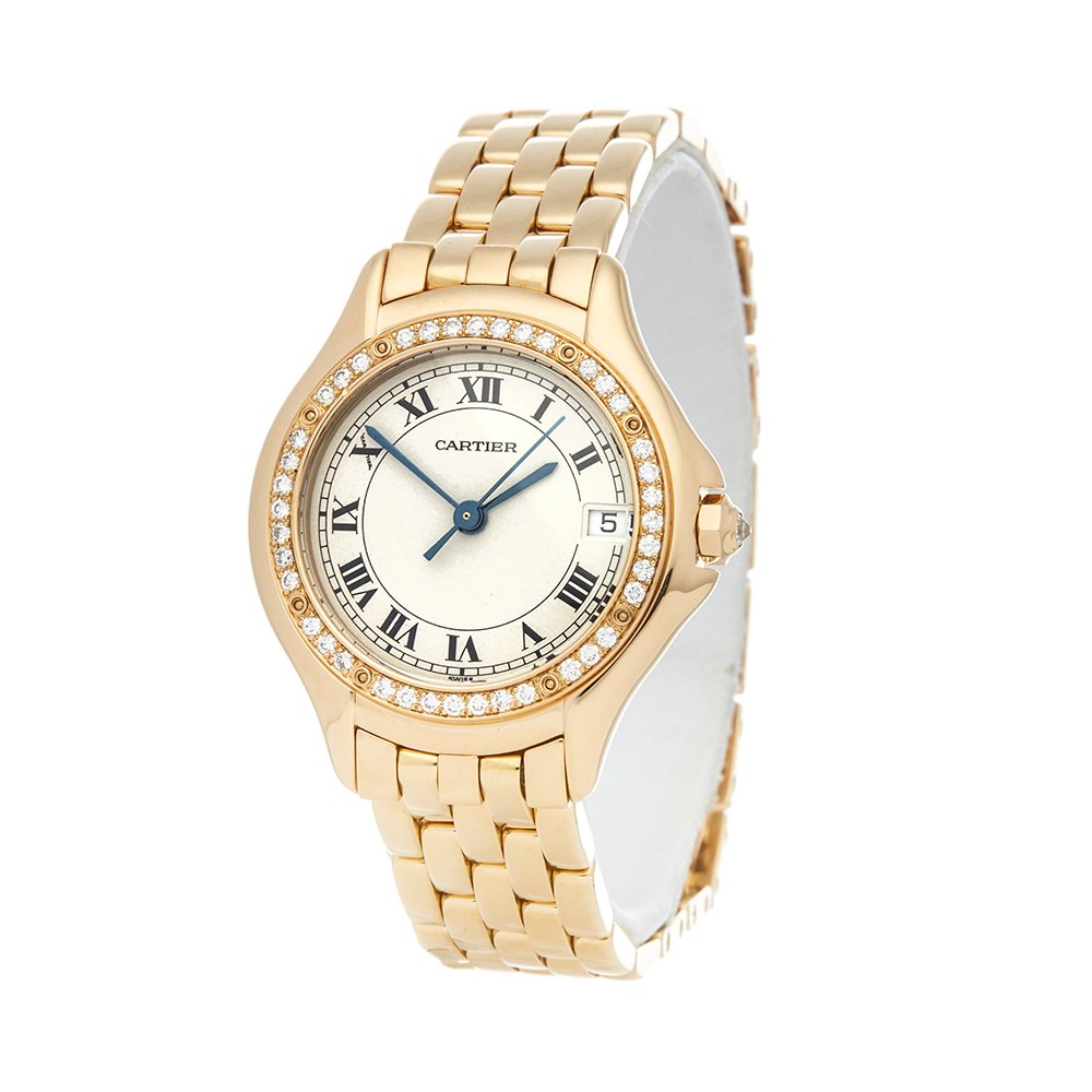 Cartier Panthère Cougar Diamond Yellow Gold WF8007F3 or 1172