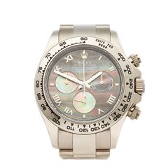 Rolex Daytona 18K White Gold - 116509