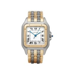 Cartier Panthère Stainless Steel & 18K Yellow Gold - 2495