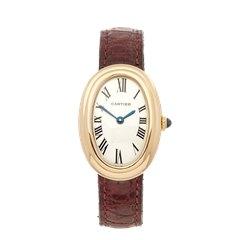 Cartier Baignoire 18K Yellow Gold - 82720900
