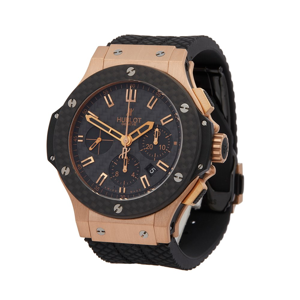 Hublot Big Bang Kazakhstan Special Edition Chronograph 18k Rose Gold 301