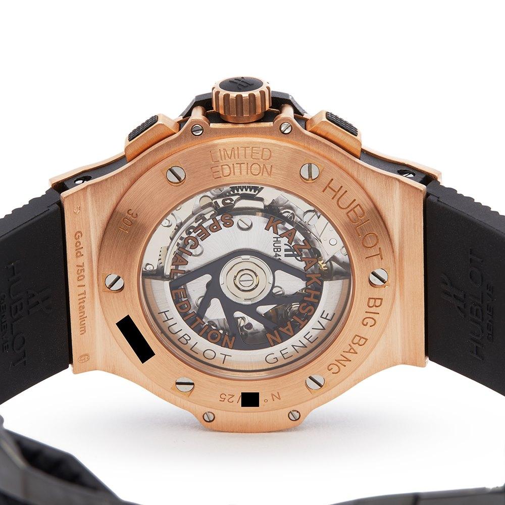 Hublot Big Bang Kazakhstan Special Edition Chronograph 18K Rose Goud 301