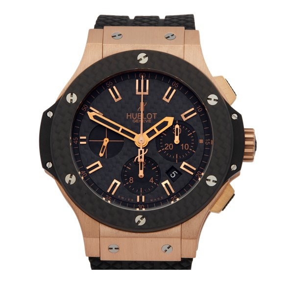 Hublot Big Bang Kazakhstan Special Edition Chronograph 18K Rose Gold - 301