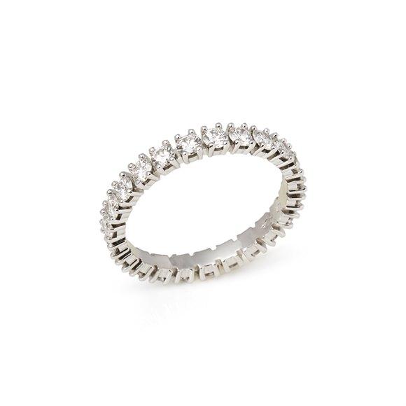 Cartier Platinum 1.56ct Full Diamond Destinée Eternity Ring