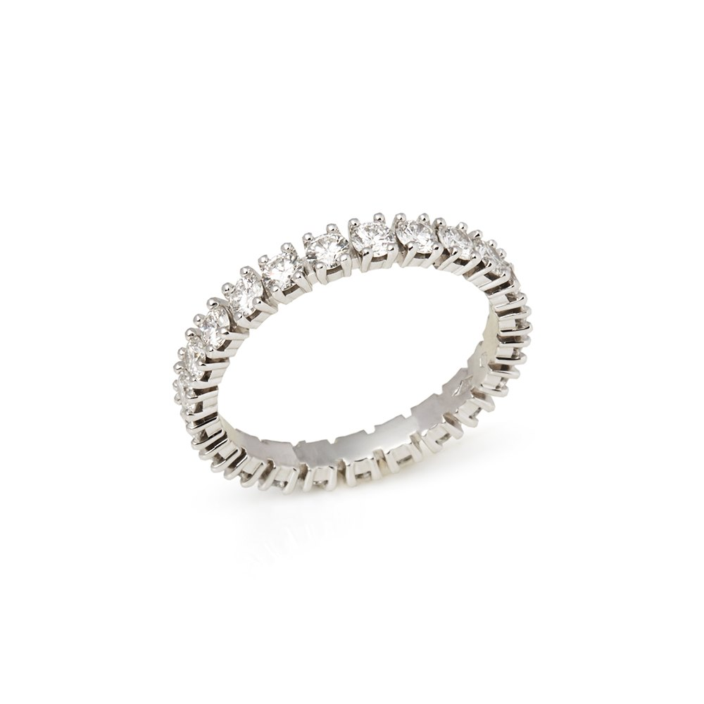 Cartier Platinum 1.56ct Full Diamond Destinée Eternity Ring