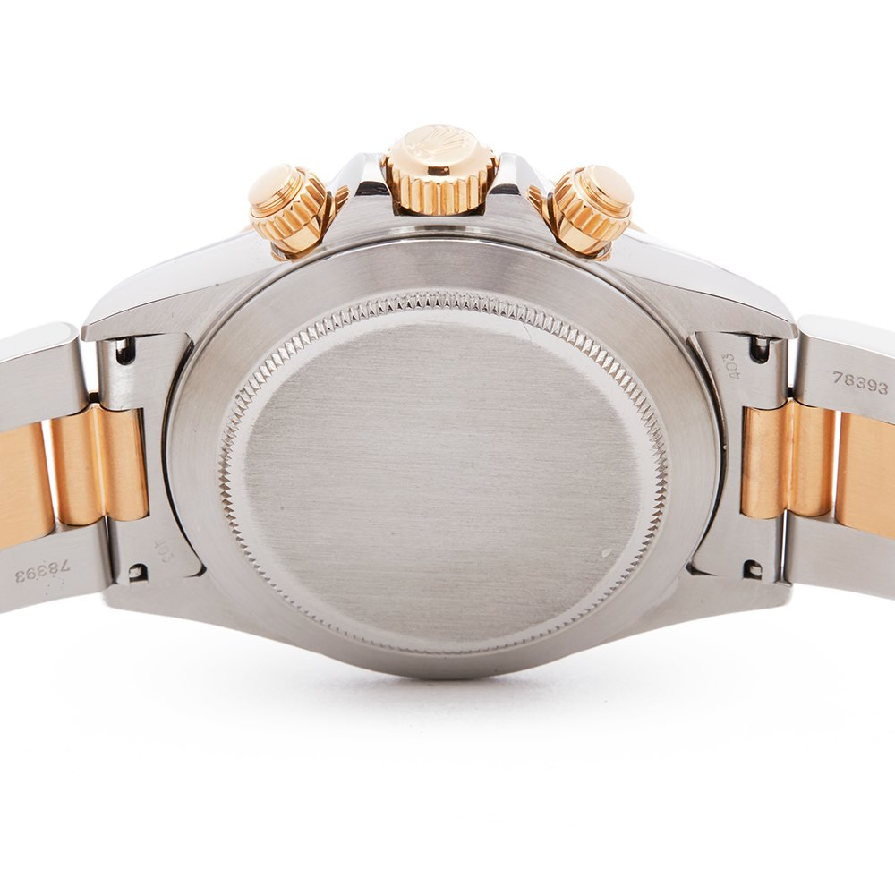 Rolex Daytona Stainless Steel & 18K Yellow Gold 16523