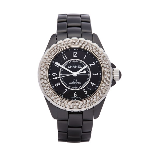 Chanel J12 Black Ceramic - H0969