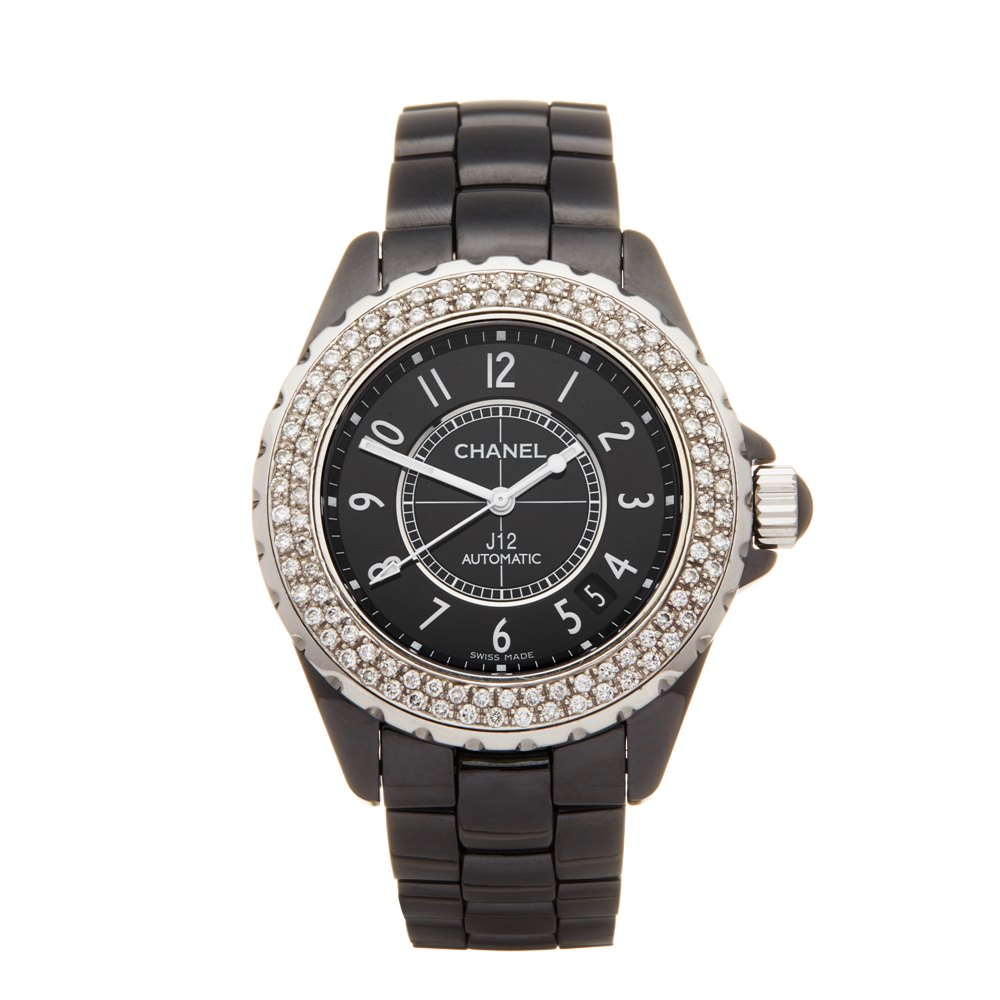 Chanel J12 Black Ceramic H0969