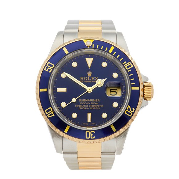 Rolex Submariner Stainless Steel & 18K Yellow Gold - 16613LB
