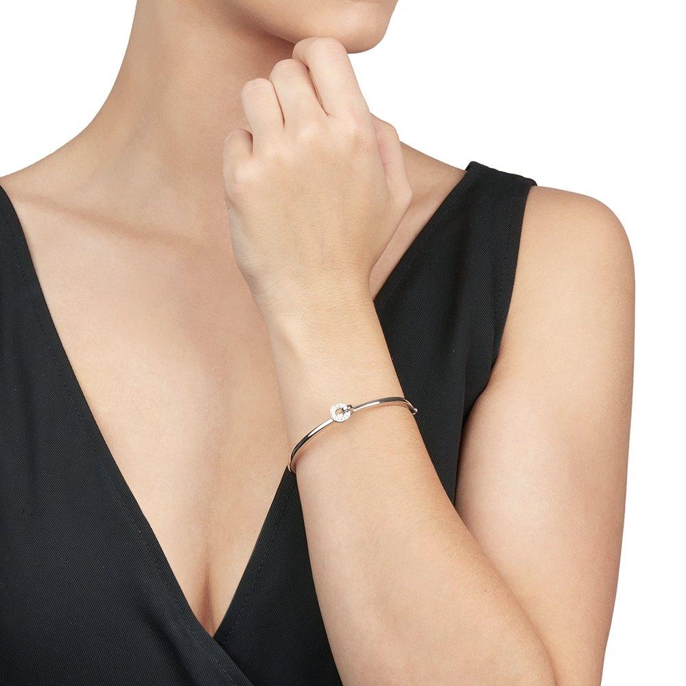Boodles 18k White Gold Diamond Roulette Flip Bracelet