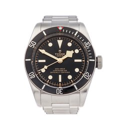 Tudor Heritage Black Bay Stainless Steel - 79230N