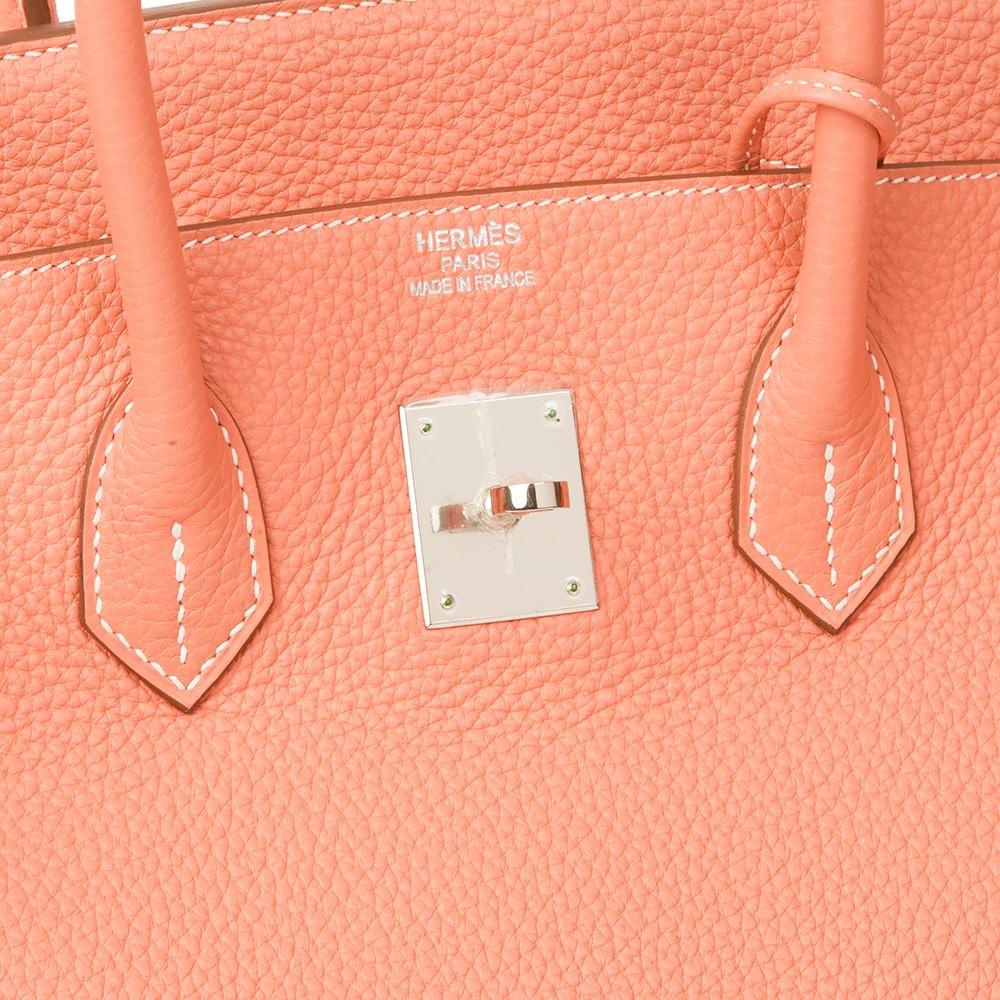 Hermès Crevette Togo Leather Birkin 35cm