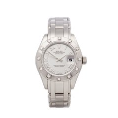Rolex Pearlmaster 18K White Gold - 80319