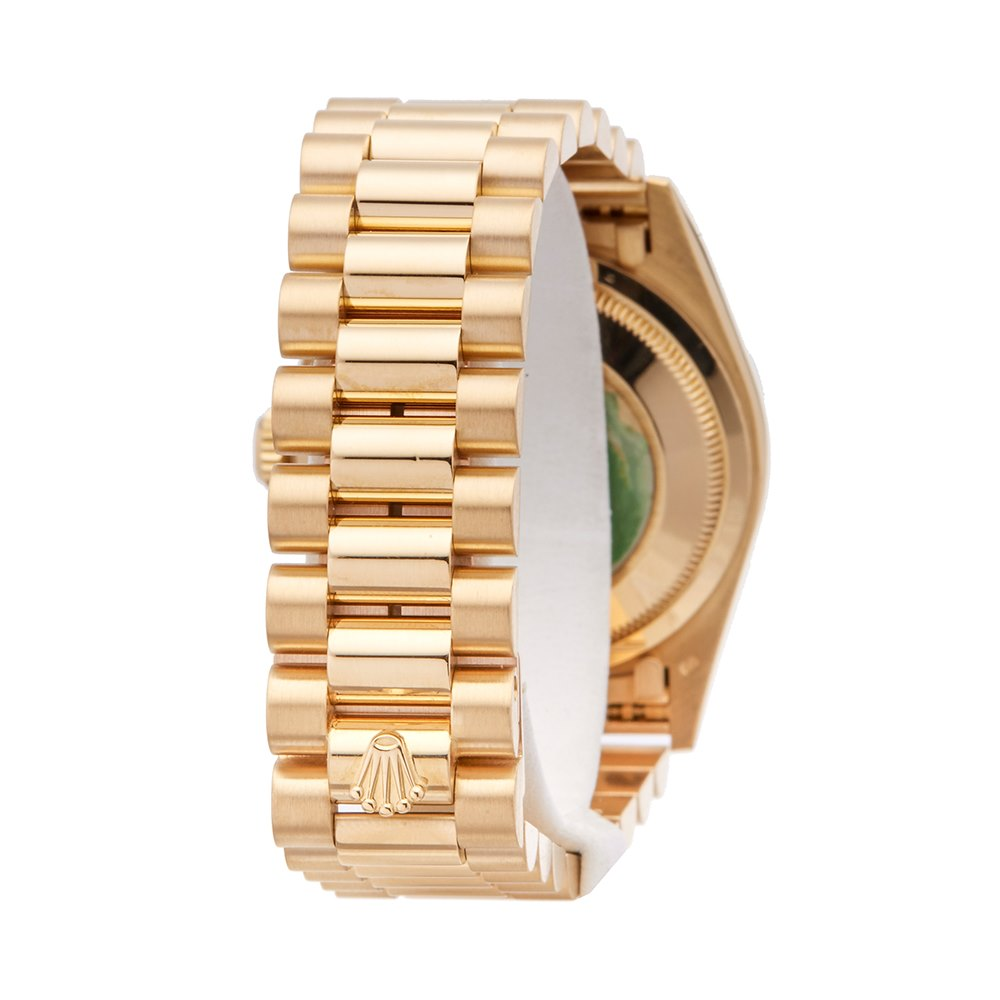 Rolex Day-Date 36 Fossilised Limestone 18K Yellow Gold - 18238 18K Yellow Gold 18238