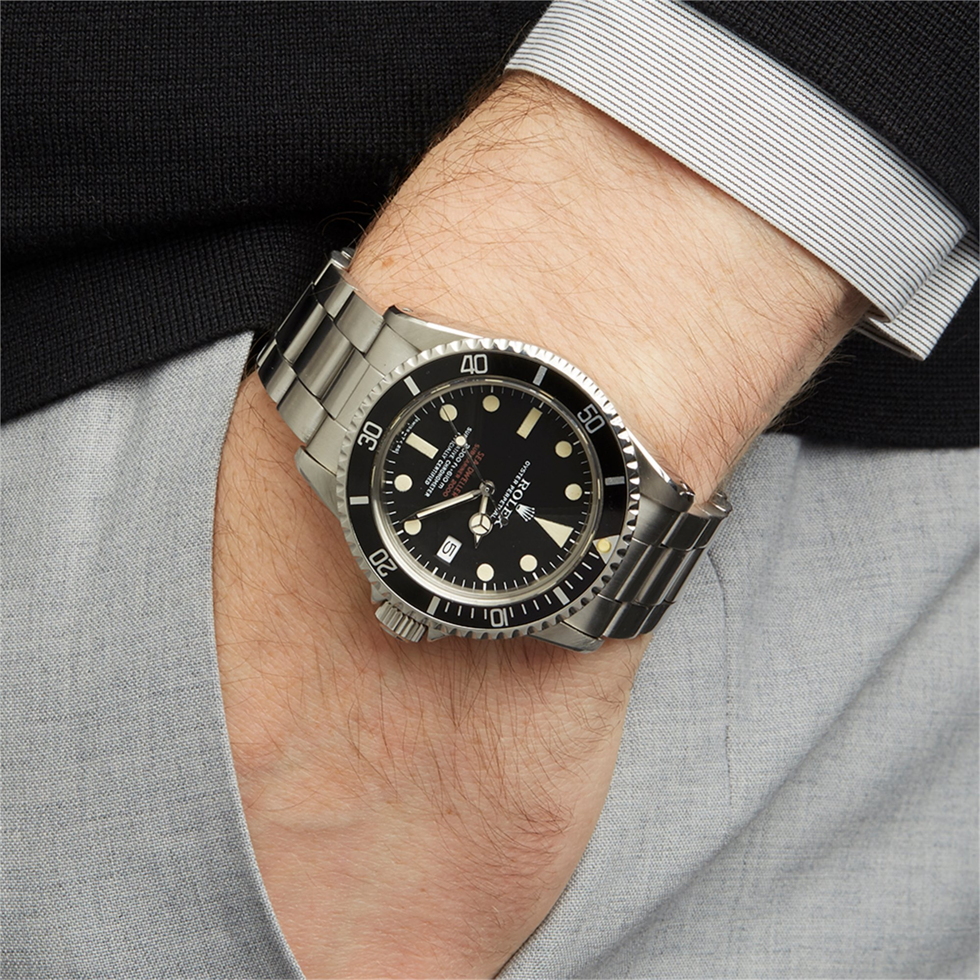 Rolex Sea-Dweller Double Red Drsd Stainless Steel 1665