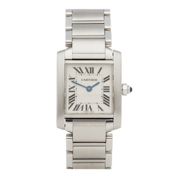 Cartier Tank Francaise Stainless Steel - 2384
