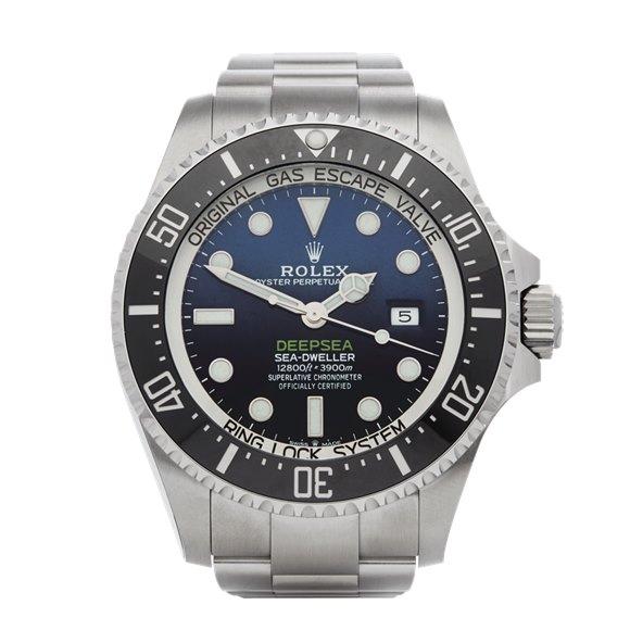 Rolex Sea-Dweller Deepsea James Cameron Deep Blue Stainless Steel - 126660