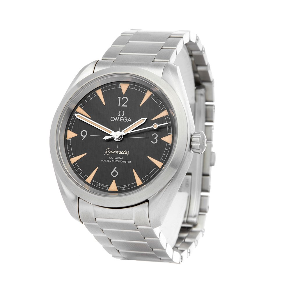 Omega Railmaster Stainless Steel 220.10.40.20.01.001
